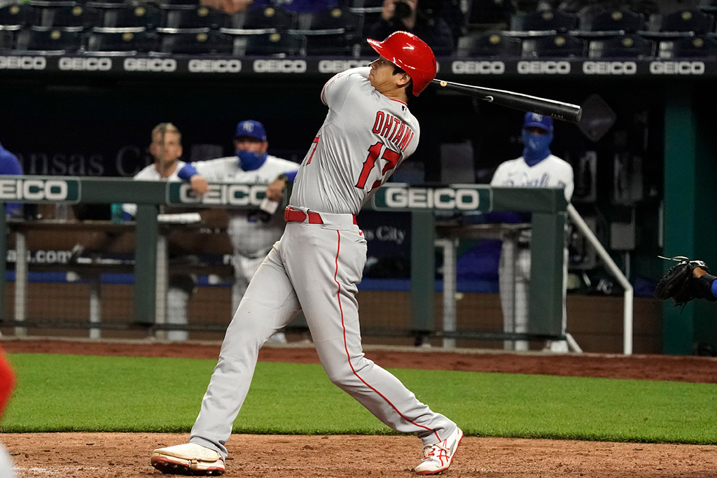 【MLB】大谷翔平、衝撃の「ロケット」二塁打 打球速度191.5キロ超えは史上5人目 画像