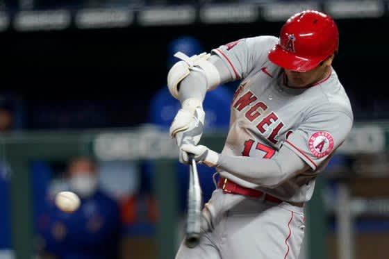 【MLB】大谷翔平、特大131m4号ソロで日米通算100本塁打に王手 2戦連続5度目マルチ 画像