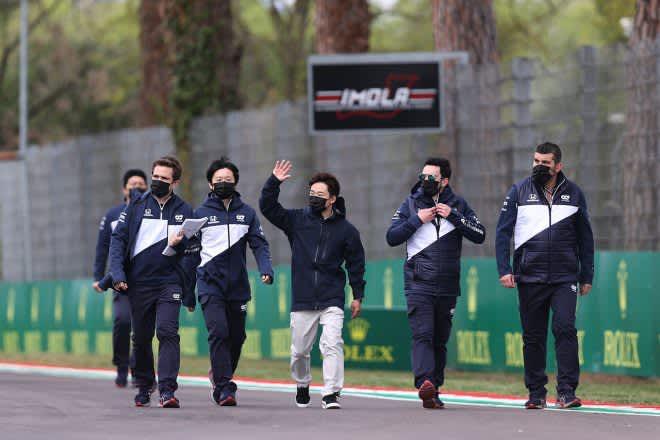 反省点はポジション取り。角田裕毅「よりアグレッシブに、順位を上げるスタートをしたい」/F1第2戦直前インタビュー 画像