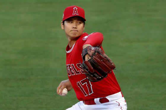【MLB】大谷翔平、制球不安定も奪三振ショー 3回まで5四球5奪三振無失点、エ軍は3回に先取点 画像