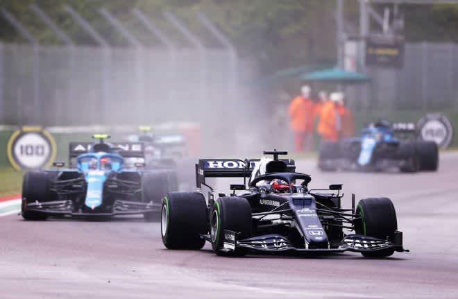 前戦から一転して低評価も「ルーキーはミスをするもの」と今後の活躍に期待/角田裕毅の海外メディア評 F1第2戦 画像