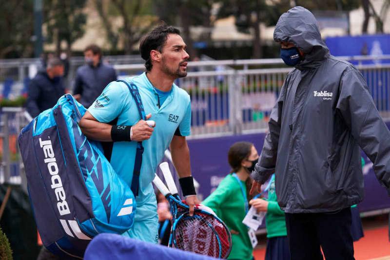 フォニーニが暴言で失格!ナダルは逆転勝利で錦織と対戦へ[ATP500 バルセロナ] 画像