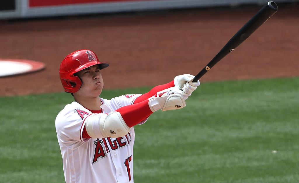 【MLB】大谷翔平、連日の際どいジャッジに苦笑い 今季打席での「ストライク判定」をデータで振り返る 画像
