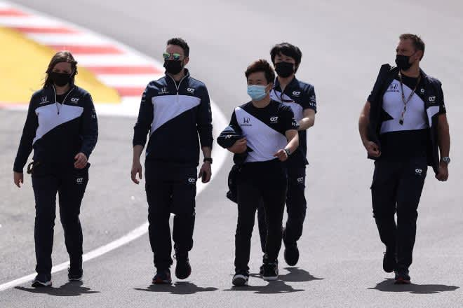 角田裕毅、イモラで「自分の弱点がわかった」初のポルトガルでは状況を見極めアグレッシブに/F1第3戦直前インタビュー 画像