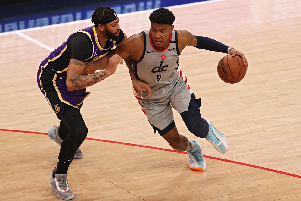 【NBA】八村塁、豪快過ぎるワンハンド・ダンクに反響相次ぐ 米メディアも「トッププレー」に選出 画像