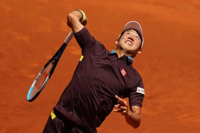 錦織圭 ズベレフにストレート負けで2回戦敗退[ATP1000 マドリード] 画像