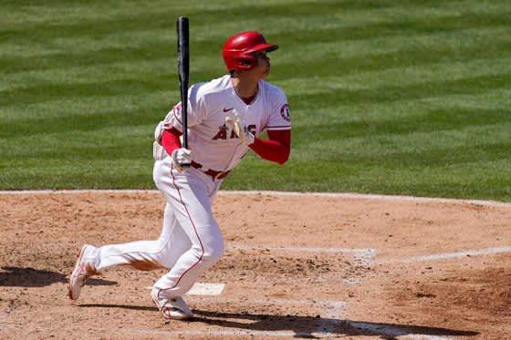 【MLB】大谷翔平、第3打席で左翼越え適時二塁打放ち2試合連続安打! 今季無敗の左腕から快音 画像