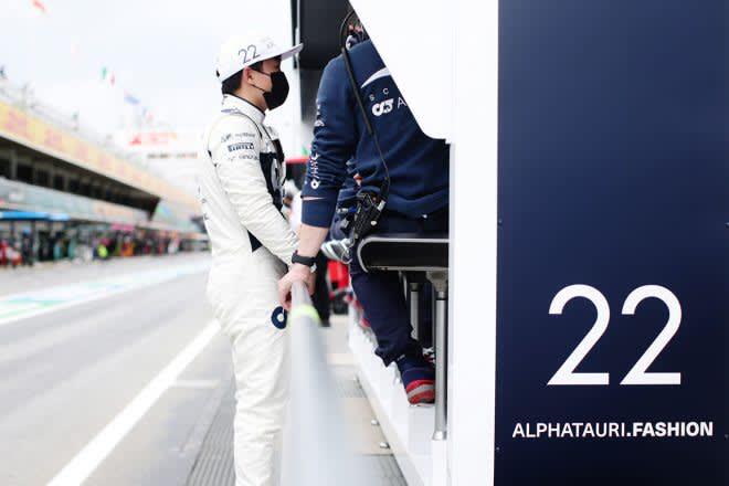 【角田裕毅F1第4戦密着】焦りが感じられたスペインGP。トラブル原因の調査を進め「すべてを見直したい」 画像