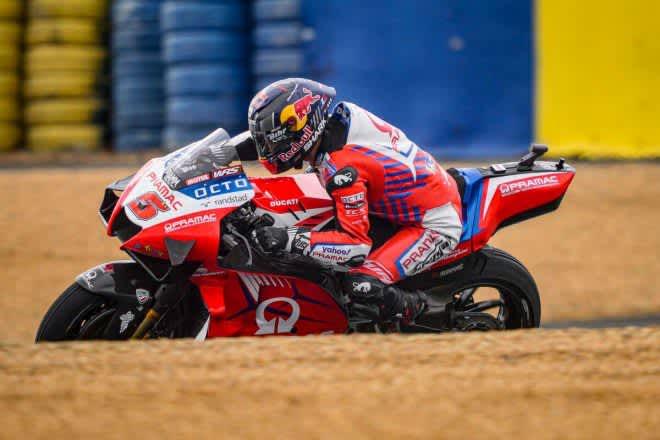 MotoGP第5戦フランスGP:転倒が相次いだ初日、総合トップはヨハン・ザルコ。マルク・マルケスは総合8番手 画像