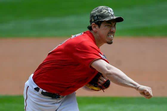 【MLB】前田健太、股関節の張りで降板 5回途中5失点で3勝目ならず、防御率5.26 画像