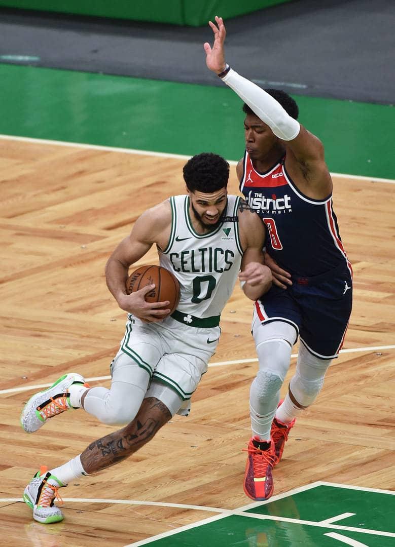 【NBA】ウィザーズは「プレーイン」でセルティックスに敗れる 八村は8得点 画像
