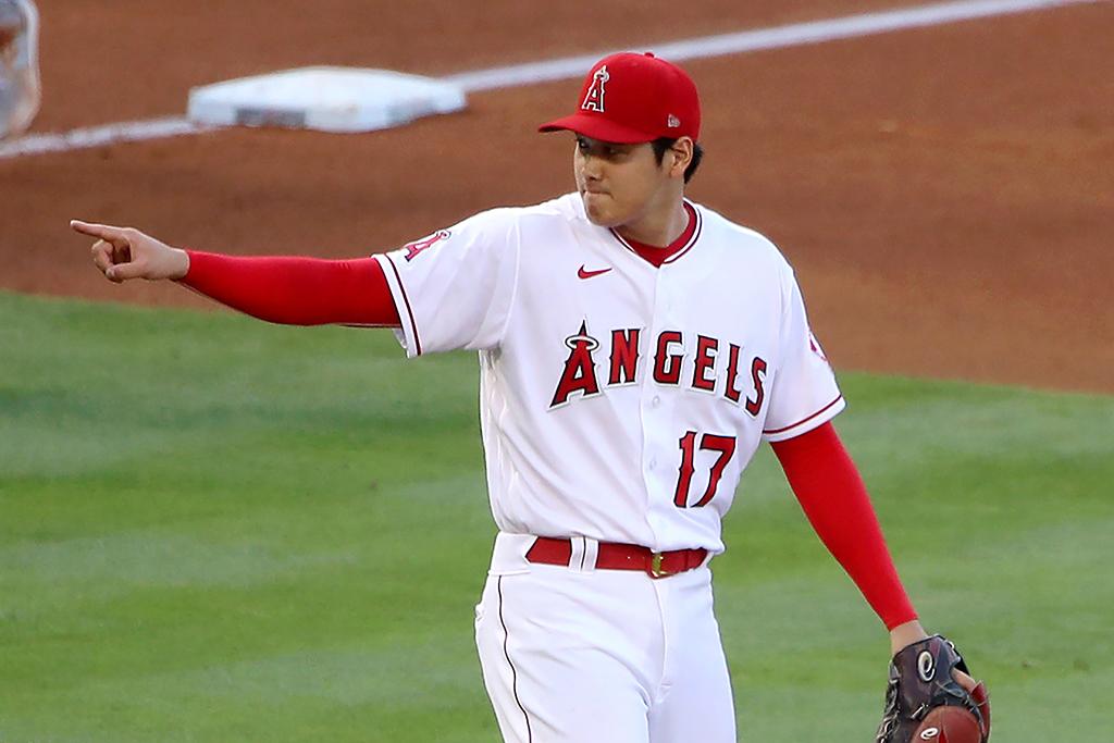 【MLB】大谷翔平、打たせて取る頭脳派ピッチングにシフト 故障による球速低下を否定 画像