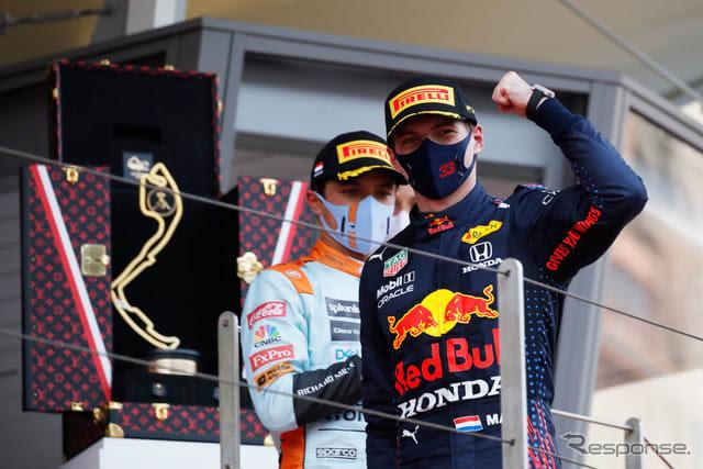 【F1 モナコGP】フェルスタッペンがモナコ初勝利、ランキングトップに浮上 画像