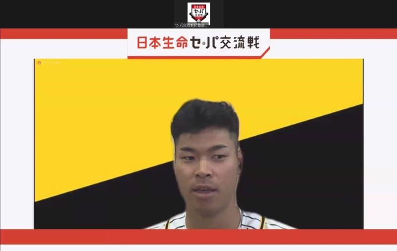 阪神・佐藤輝、同級生・山本由伸に宣戦布告「三振かホームラン、食らいついて勝負」 画像