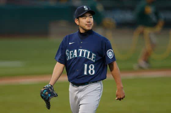 【MLB】菊池雄星「今季1番のストレートだった」 7回途中1失点で2勝目、背中つるも軽症 画像