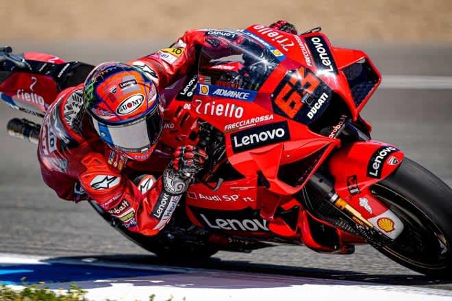MotoGP第6戦イタリアGP:ランキング2番手のバニャイアが初日総合トップタイム。中上はホンダ最上位の総合7番手 画像