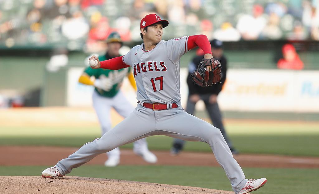 "【MLB】大谷翔平、今季初黒星も現地メディアは""球速改善""を高評価「不安を払拭し、力強く効果的」 画像"