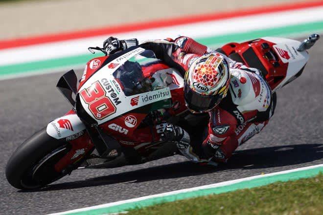 中上貴晶「トップで戦えるポテンシャルはある」/MotoGP第6戦イタリアGP初日 画像