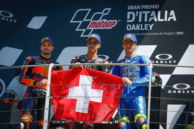 ランキングトップを維持するクアルタラロ「ライダーとしても人間としても成熟」/MotoGP第6戦イタリアGP決勝トップ3コメント 画像