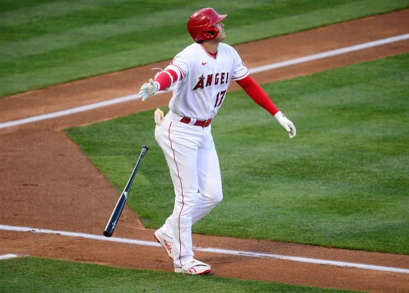 エンゼルス・大谷が自己最長17号2ラン 右中間二塁打で今季16度目のマルチ安打も 画像