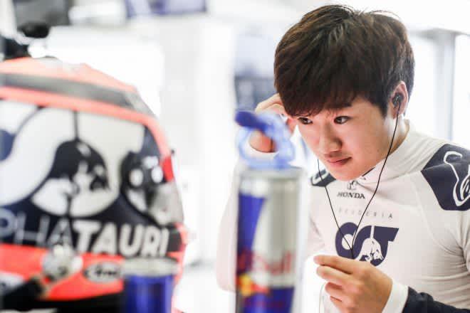 角田裕毅、FP1で5番手「かなり満足いく初日。ショートランペースは良好、ロングランの向上に取り組む」/F1第8戦 画像
