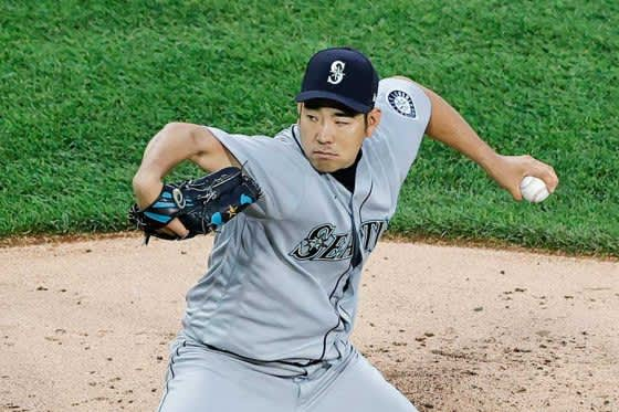【MLB】菊池雄星、5回2/3を6奪三振1失点で5勝目 防御率3.34、最速156キロ直球と変化球冴える 画像