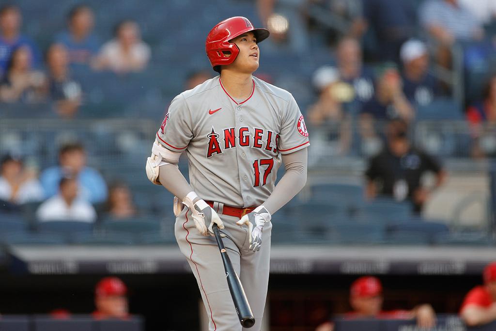 【MLB】大谷翔平、「2番DH」でスタメン復帰 相手先発ベリオスからは19年に本塁打