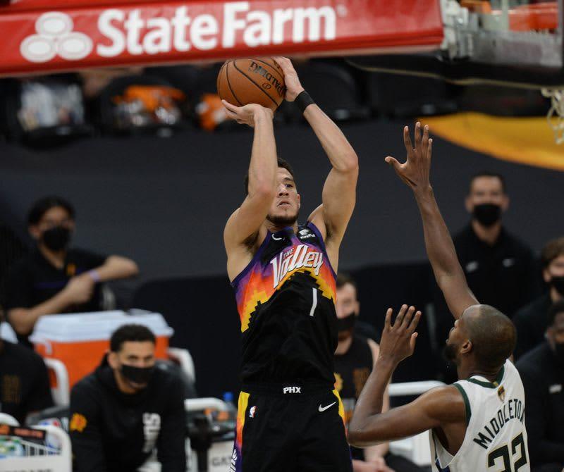 NBA=サンズ、ファイナル開幕2連勝 画像