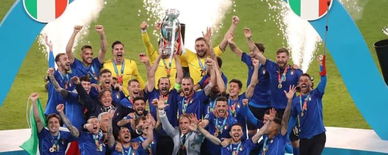 イタリアが53年ぶり2回目のEURO優勝! イングランドとのPK戦に及ぶ死闘を制す! 画像