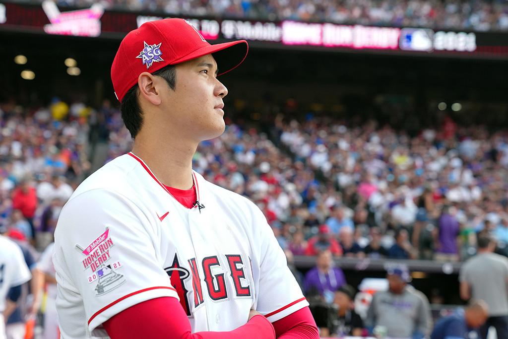 【MLB】大谷翔平、HRダービー1回戦は28本 最長156m、2度の延長戦も2回戦進出ならず 画像