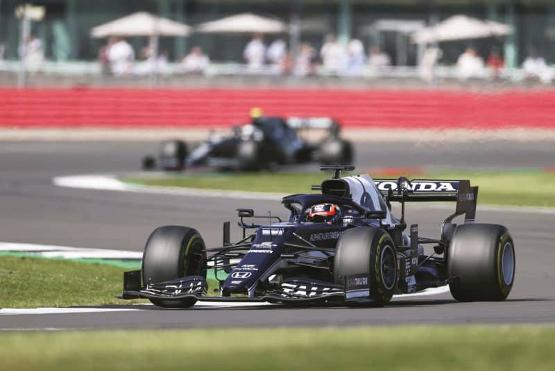F1角田10位、2戦ぶり入賞 英国GP、ホンダ6連勝ならず 画像
