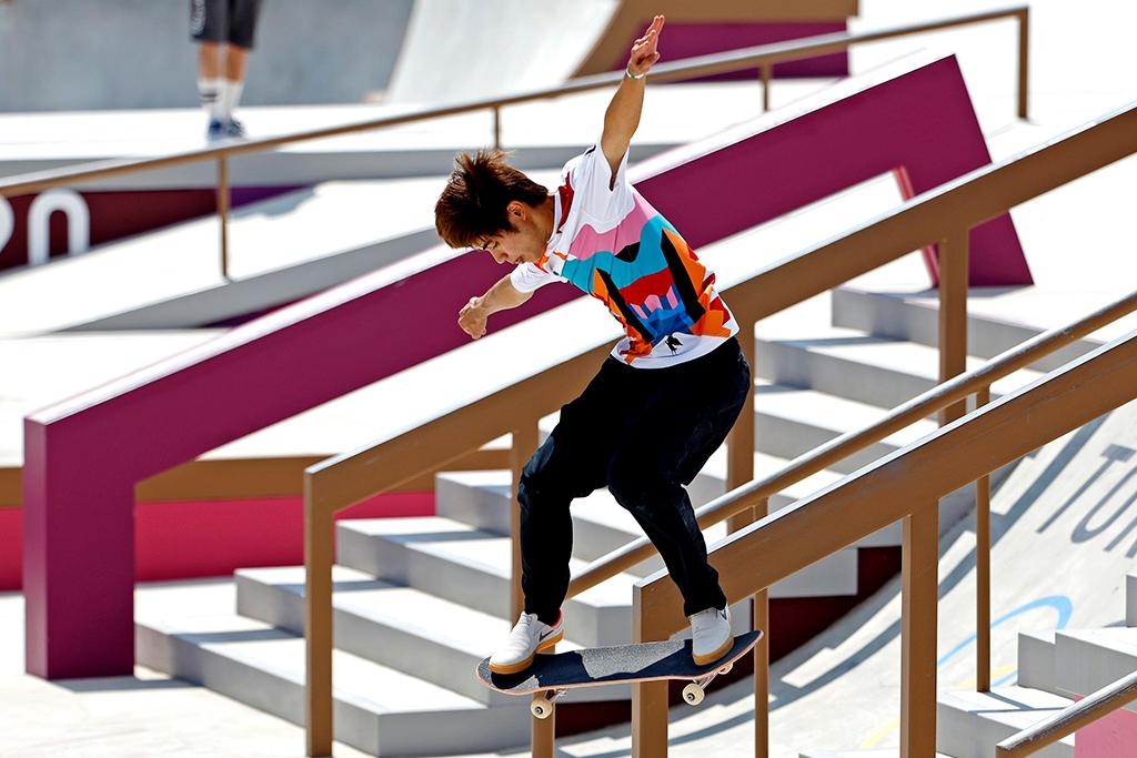 【東京五輪/スケートボード】堀米雄斗が新種目で金メダル 「すごいシンプルだが、すごい嬉しい」 画像