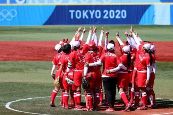 ソフト日本代表、銀メダル以上確定! 後藤が6連続Kの好リリーフで劇的サヨナラ勝ち