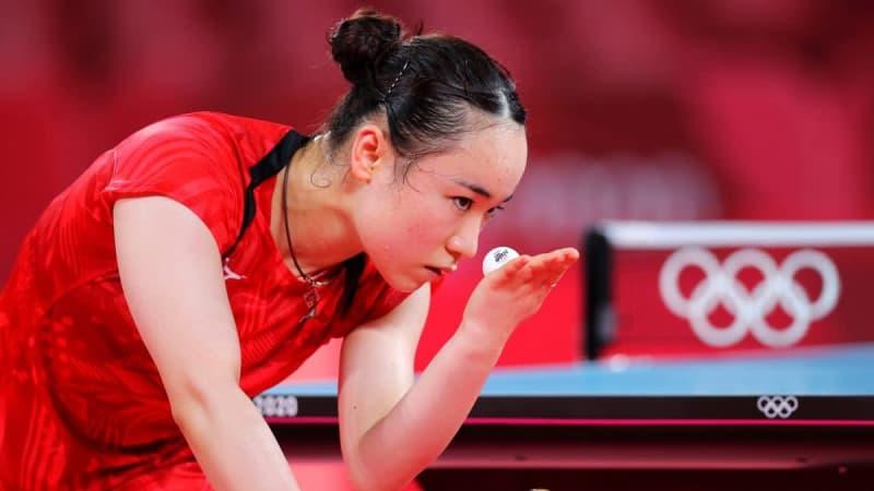 【東京五輪・卓球】伊藤美誠、ベスト8進出 シングルスメダルに向けタイのエース完封 画像