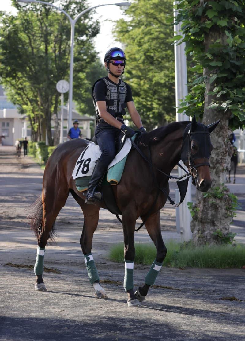 【クイーンS】イカット 一発狙う!波乱続出の夏競馬、格上挑戦で初の重賞へ 画像