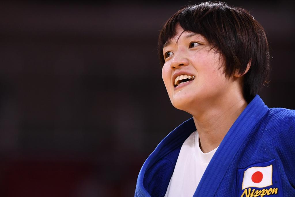 【東京五輪/柔道】女子柔道70キロ級、新井千鶴が金メダルを獲得「1本を取る気持ちでいった」