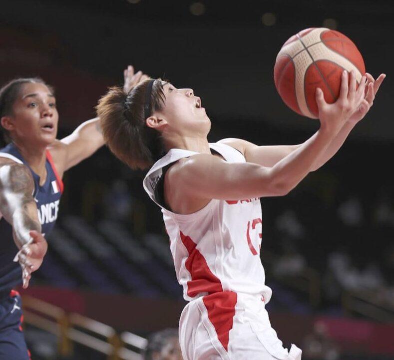 バスケット女子、日本が決勝進出 仏破りメダル確定、歴史的快挙 画像