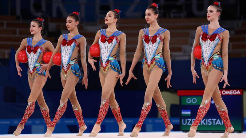 【新体操】ウズベキスタンの「セーラームーン」演技に日本のファン騒然「可愛すぎてミラクルロマンス」  画像