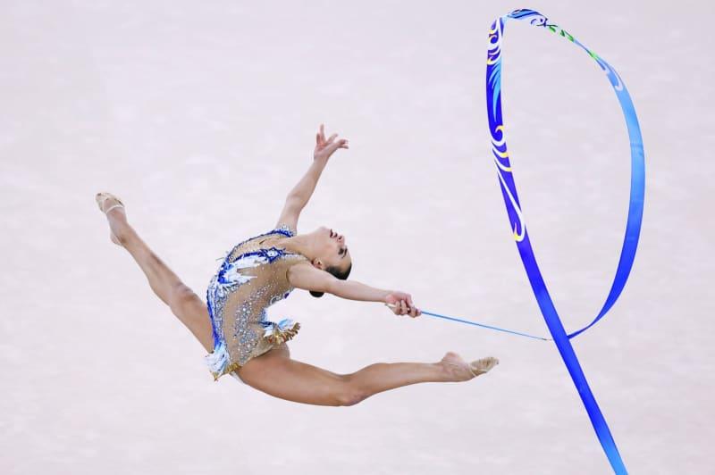 アシュラムが個人総合制す 新体操・7日 画像