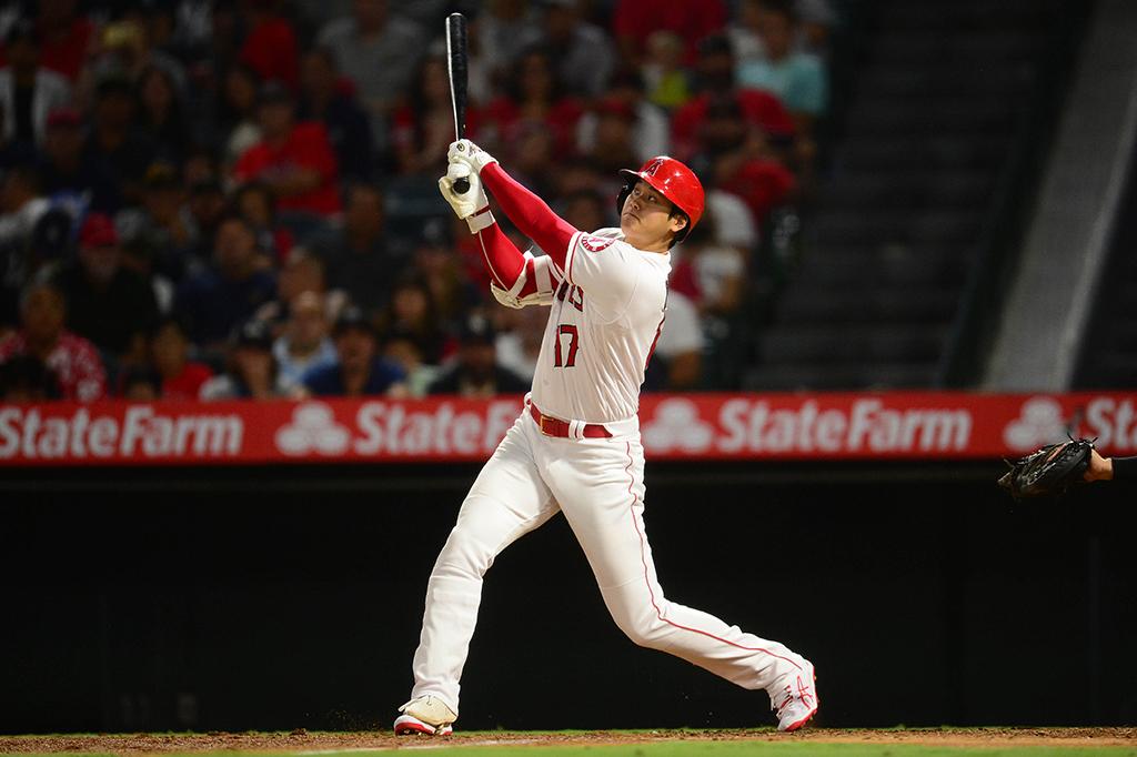 【MLB】大谷翔平、10戦ぶり45号は打球速度187キロの完璧弾 ゲレーロ、ペレスに1本差