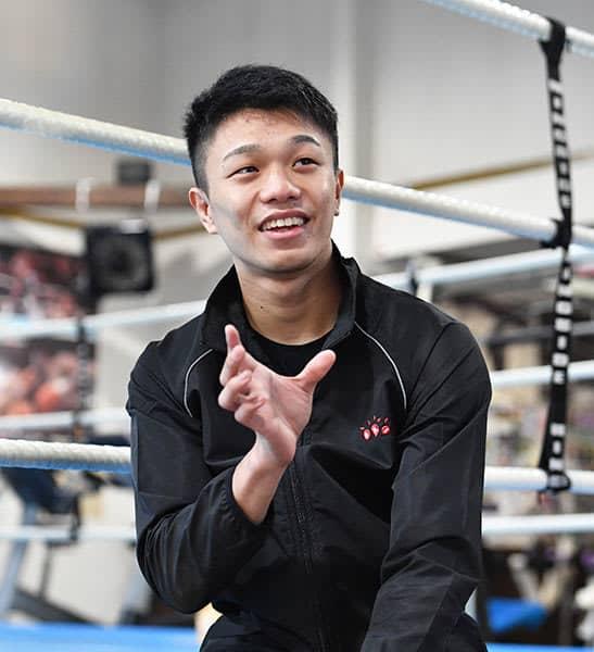 記者を驚かせたWBO世界王者・中谷潤人の〝ボクシング頭脳〟 画像