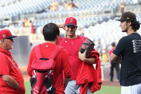 【MLB】大谷翔平&ダルビッシュの「めっちゃいい写真」 再会2ショットに日米ファン喝采 画像