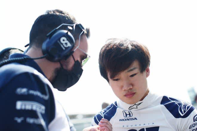 【F1】角田裕毅、ブレーキトラブルでスタートできず「経験を積めなかったことは残念だが、次に気持ちを切り替える」F1第14戦 画像