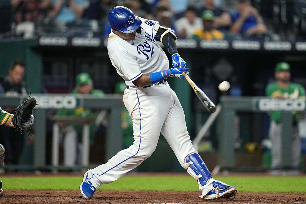 【MLB】ロイヤルズのペレスが43号弾 三つ巴本塁打争い、さらに熾烈に 「文句なし!」と完璧な一撃に現地公式Twitterも称賛