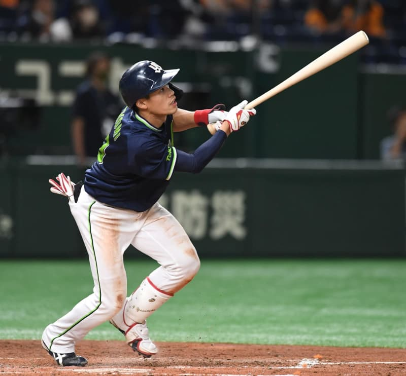 【プロ野球】ヤクルト・塩見泰隆が六回でサイクル安打!史上71人目 4打席で決める 画像