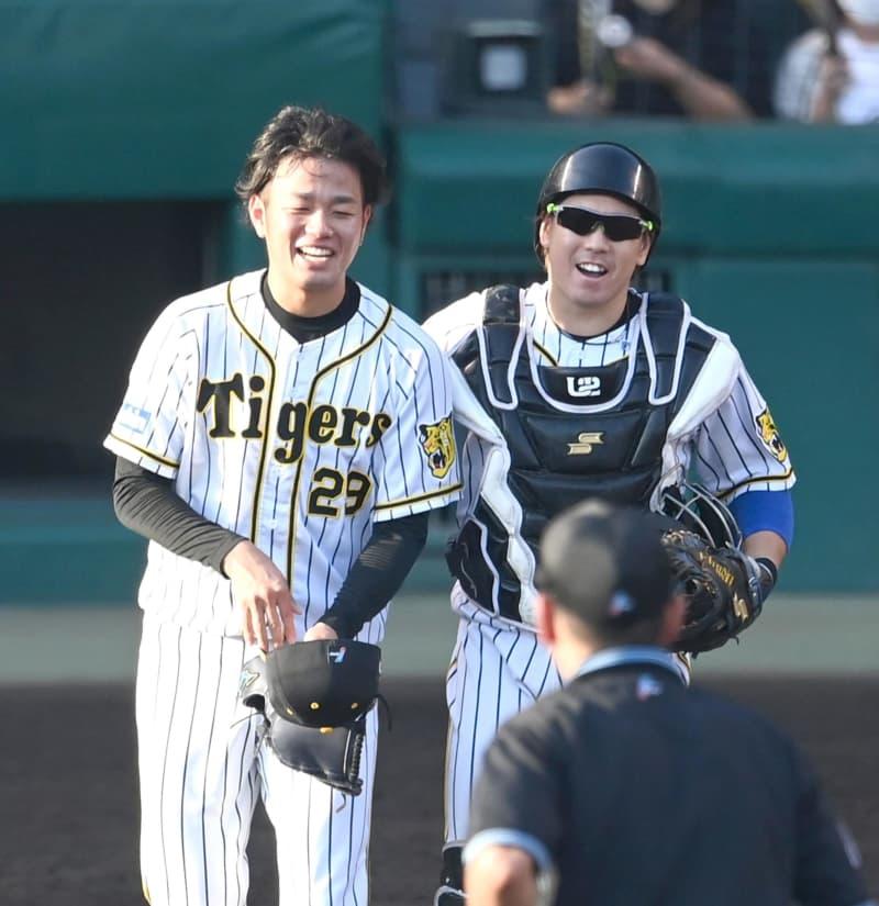 阪神・高橋が2試合連続完封 球数97球「マダックス」達成 次回ヤクルト戦先発へ 画像